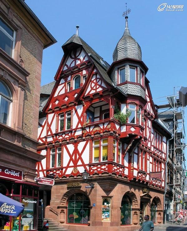 美:德国桁架结构建筑