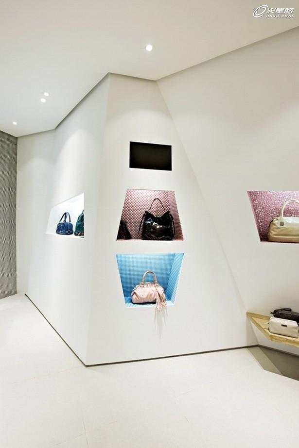 创意橱窗展示手绘图