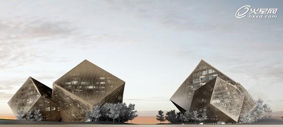 建筑概念设计排版图片