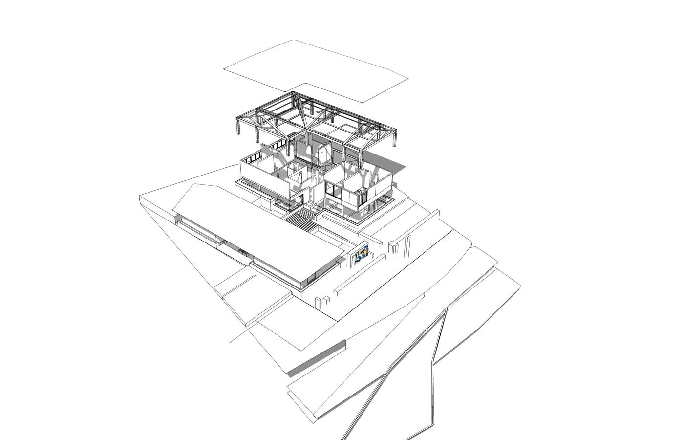房屋结构设计图手绘