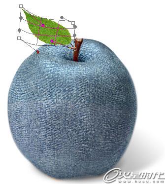 树叶变形设计图片