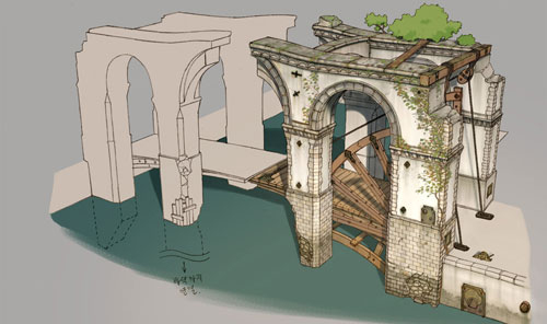 次世代游戏场景《世界之桥》