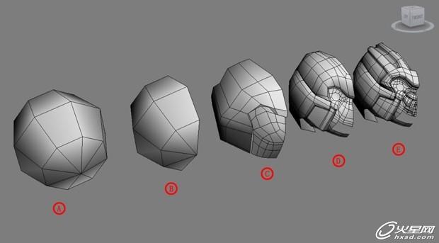 3ds max教程:制作变形金刚流程解析