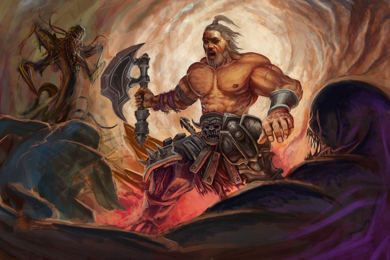 写给新手野蛮人的各种注意事项 野蛮人玩家设计的精品原画...