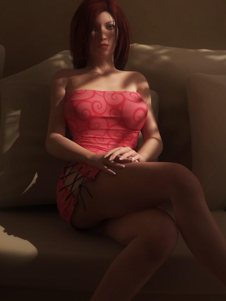 3d美女!荷兰艺术家海量喷血性感cg作品