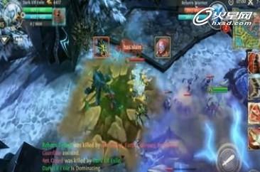 混沌与秩序:英雄作为由gameloft的制作游戏本作依然是精巧...