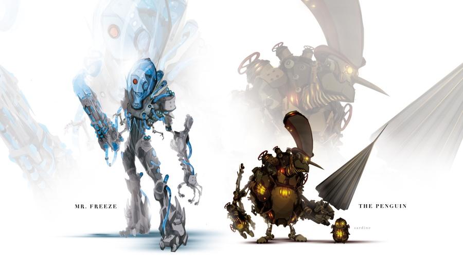 炫酷狂屌拽!超级英雄变身华丽机器人