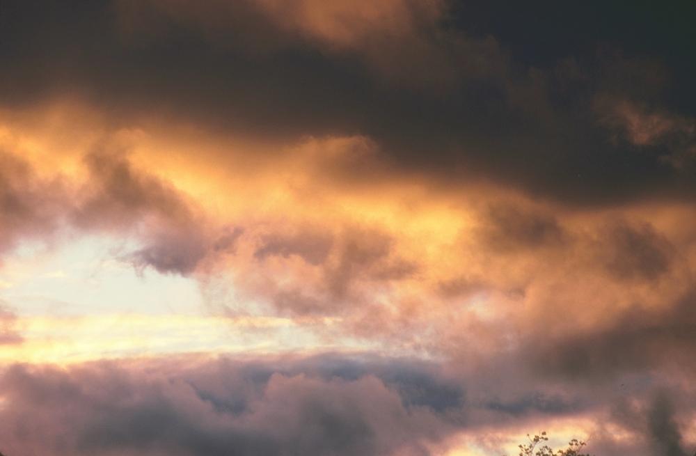 绝版黄昏天空背景素材图片收藏