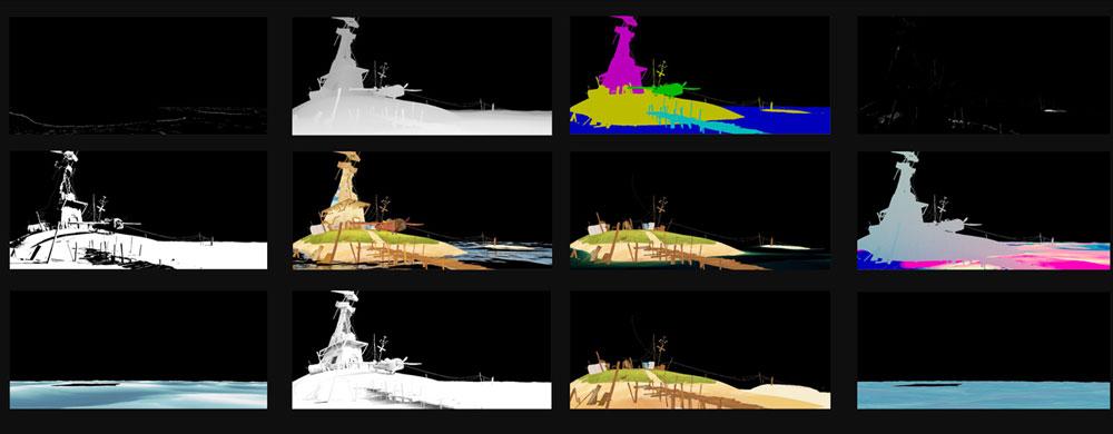 影视动画教程:《开飞机的鸡》三维制作难点解析