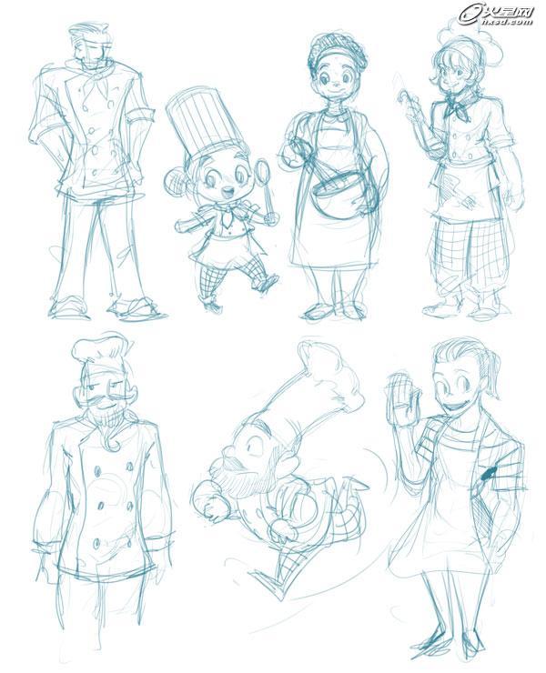 [转载]在Adobe Illustrator中创建一个漫画人物 - 数字人 - 数字人的学习空间