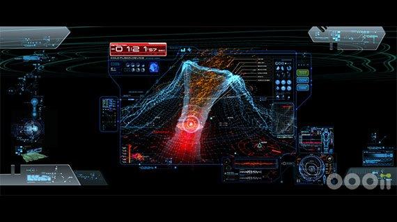 好莱坞大片中科幻界面设计
